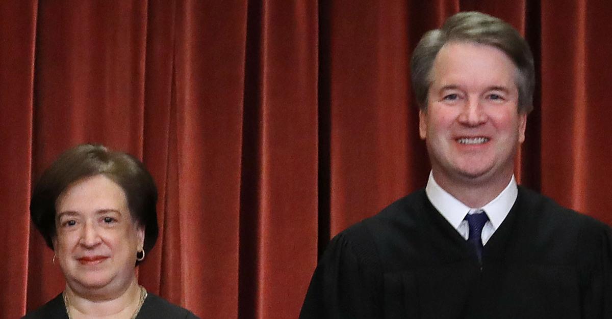 Justice Kagan and Kavanaugh