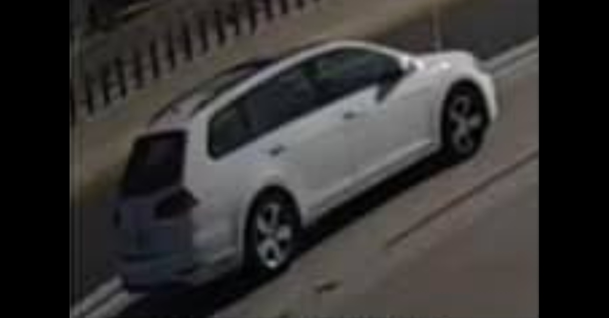 Suspect vehicle in shooting death of Aiden Leos