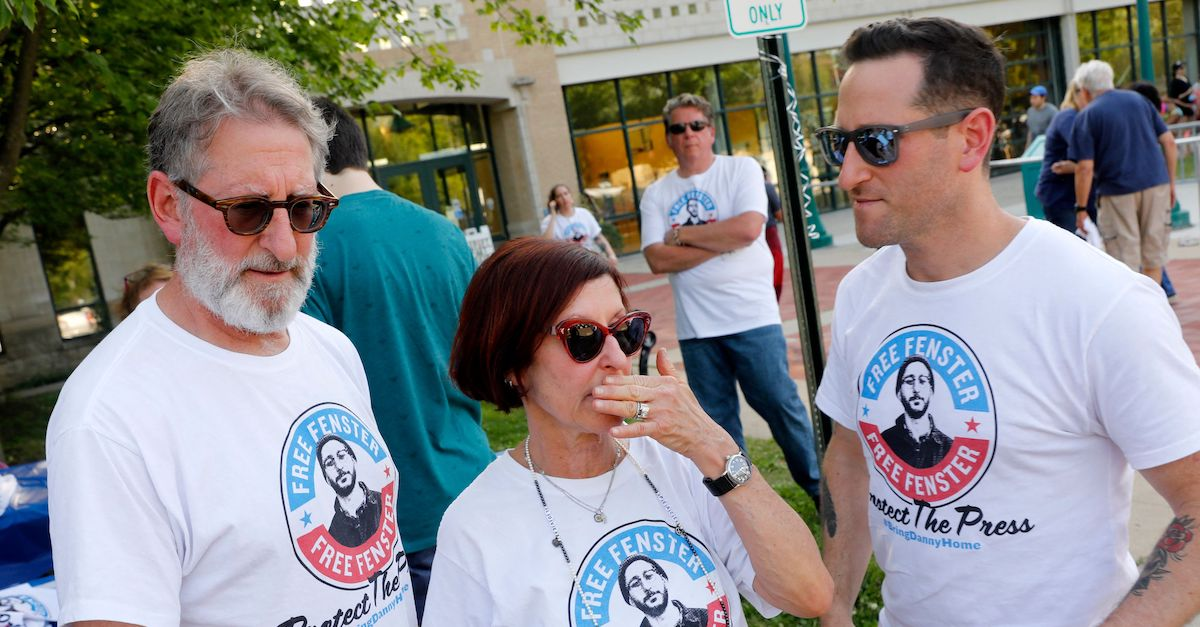 The parents and brother of detained journalist Danny Fenster