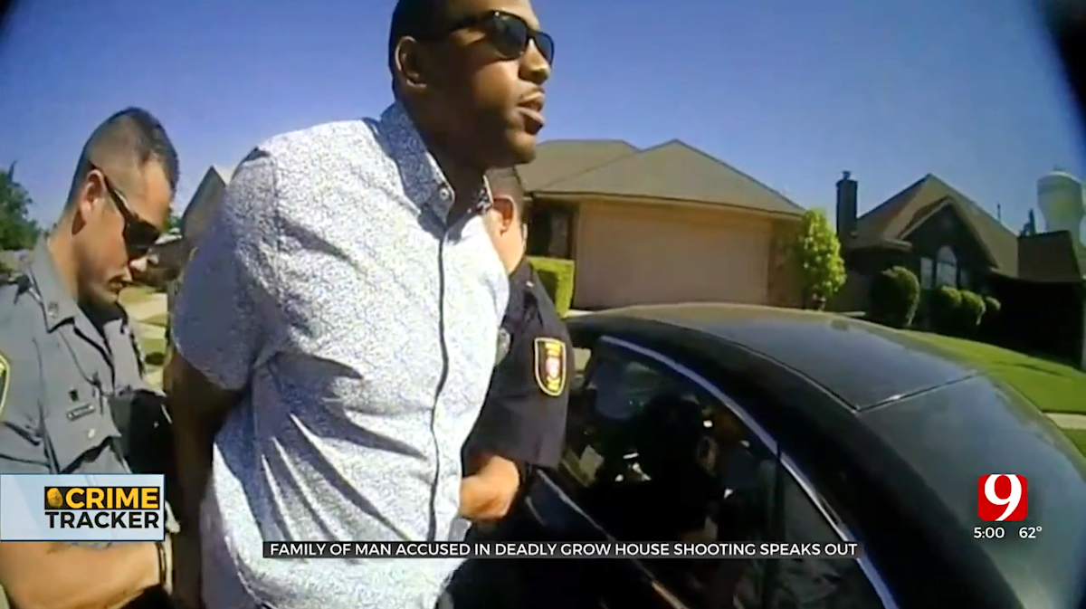 LaRue Bratcher Arrest Body Cam Screengrab