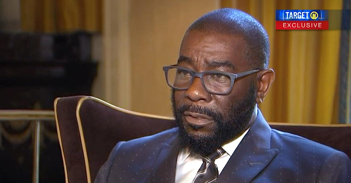 Attorney Milton Raiford during interview