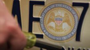 Mississippi license plate seal