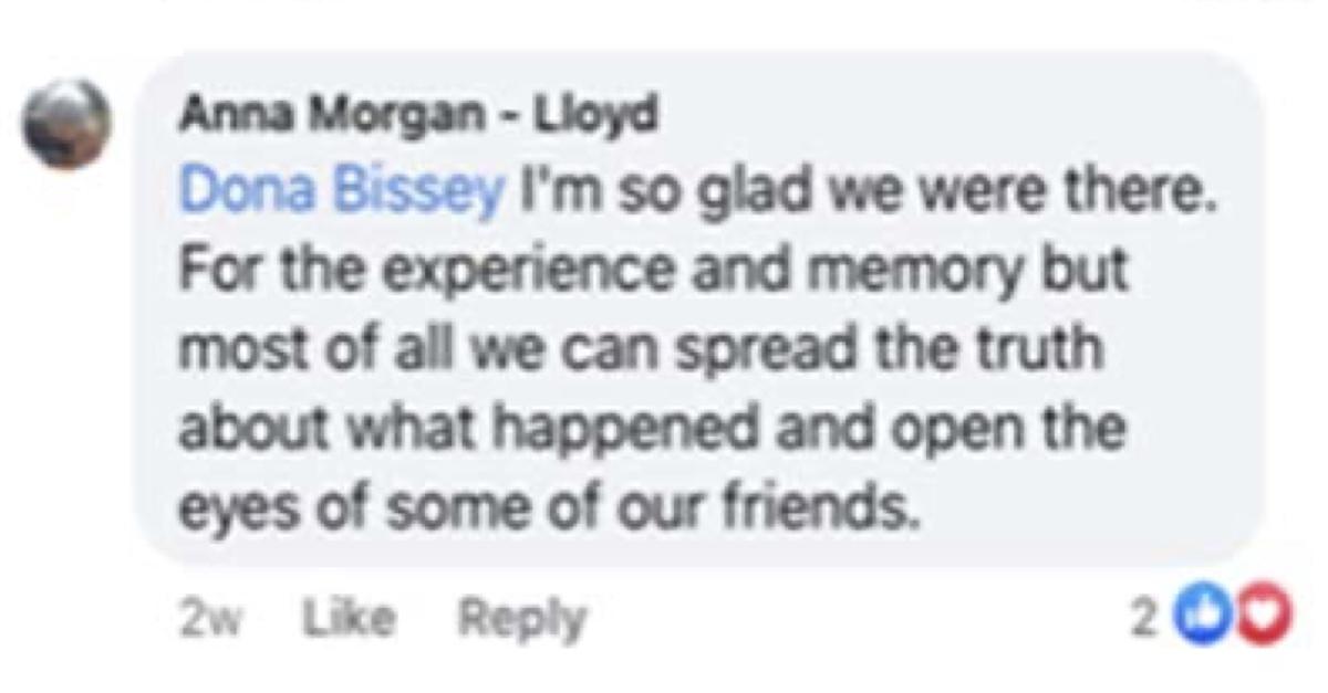 anna morgan lloyd seeks community service