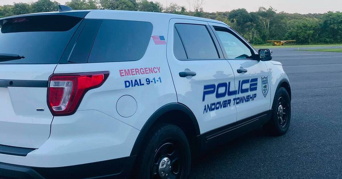 Andover Township PD Truck