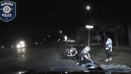 video of alleged attempted murder of Aurora police officer Joaquin Miranda