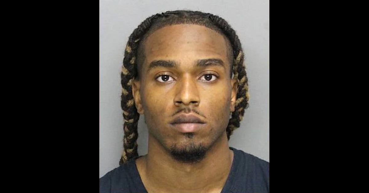 Bryan Rhoden is seen in a Cobb County, Ga. jail mugshot.