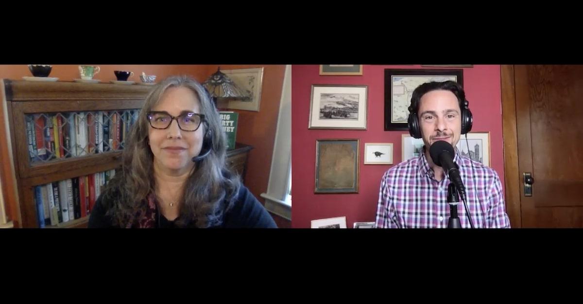 "Adam Klasfeld interviews Jen Taub on ""Objections"" podcast"