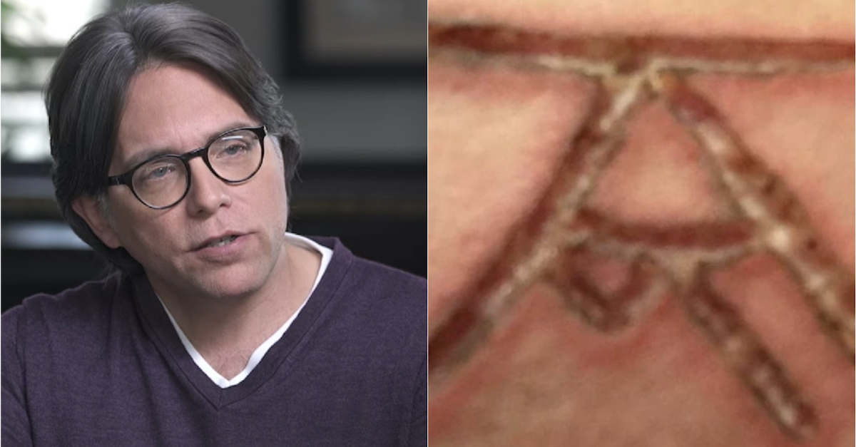 Keith Raniere and a government exhibit of the DOS brand