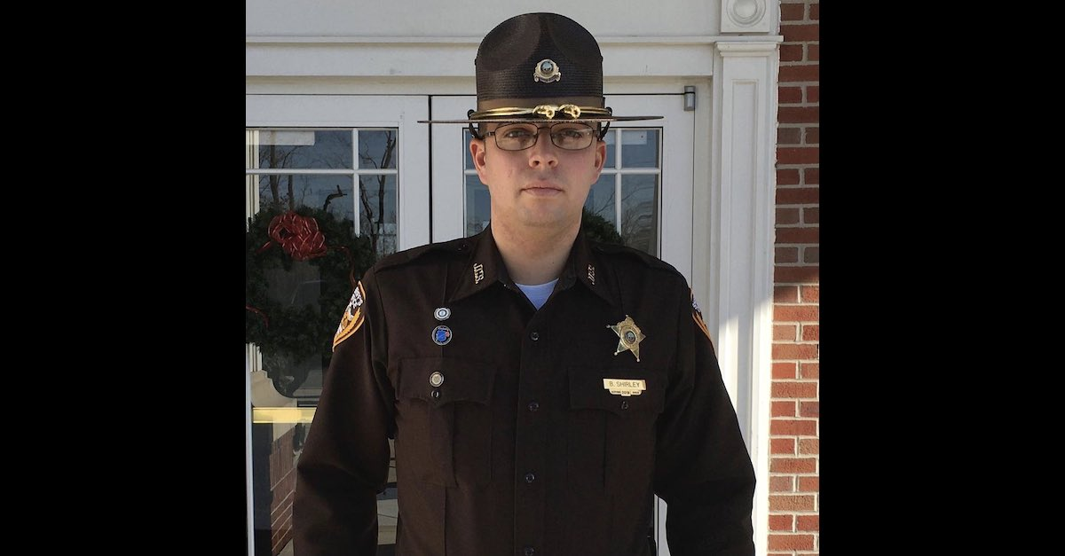 Fallen deputy Brandon Shirley is seen in an image provided by the Jefferson County Sheriff's Department.