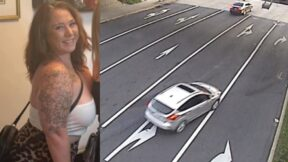 Cassandra 'Casey' Johnston and her car via the Lower Southampton Township Police Department
