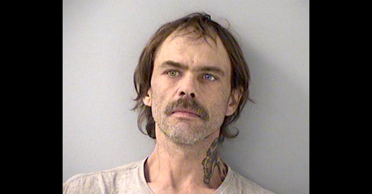 James Russell Hamilton appears in a Butler County, Ohio jail mugshot.