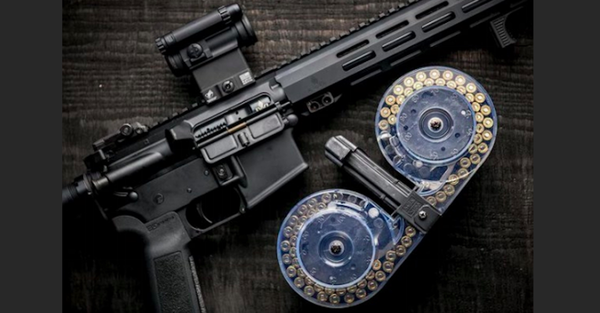 The 100-round magazine used by Connor Betts in Dayton mass shooting