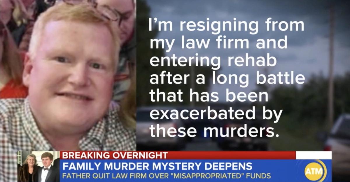Alex Murdaugh statement and image