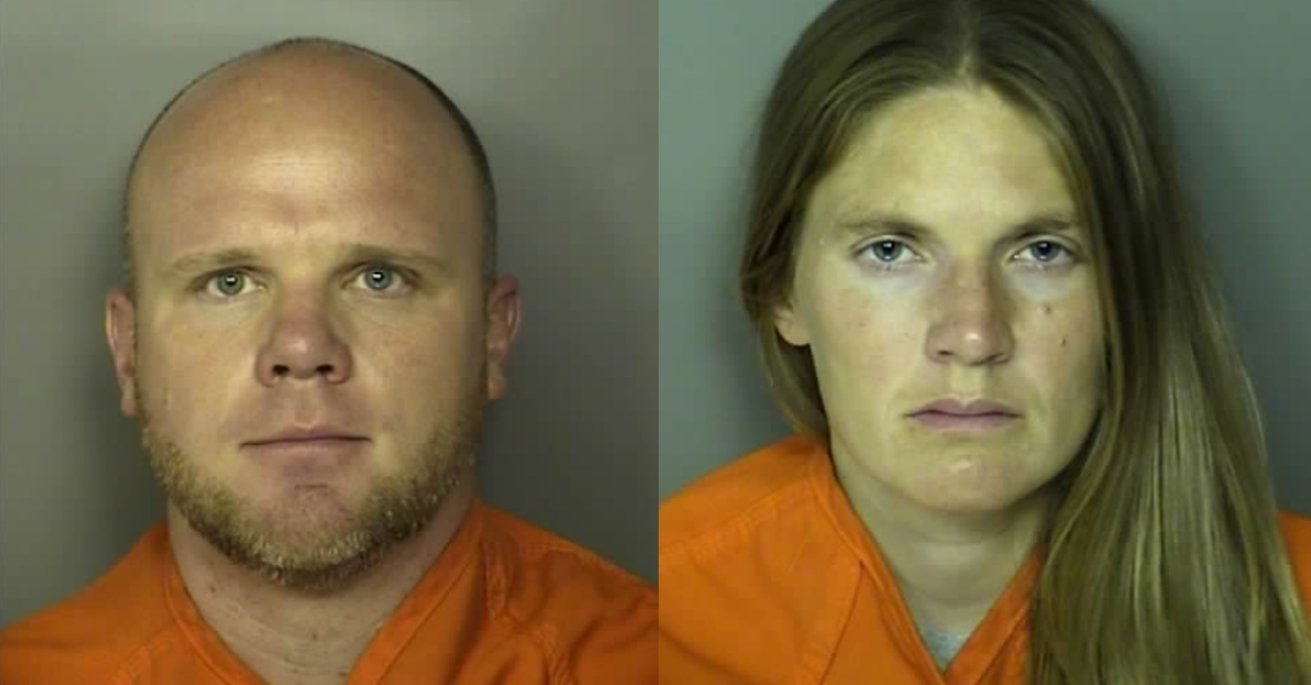 Christopher Allen Dontell and Meagan Marie Jackson via Horry County Sheriff's Office