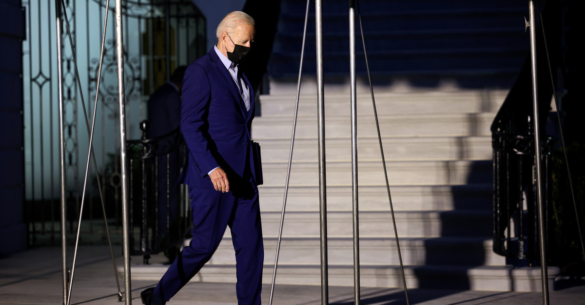 President Biden Departs White House For 9/11 Anniversary Ceremonies