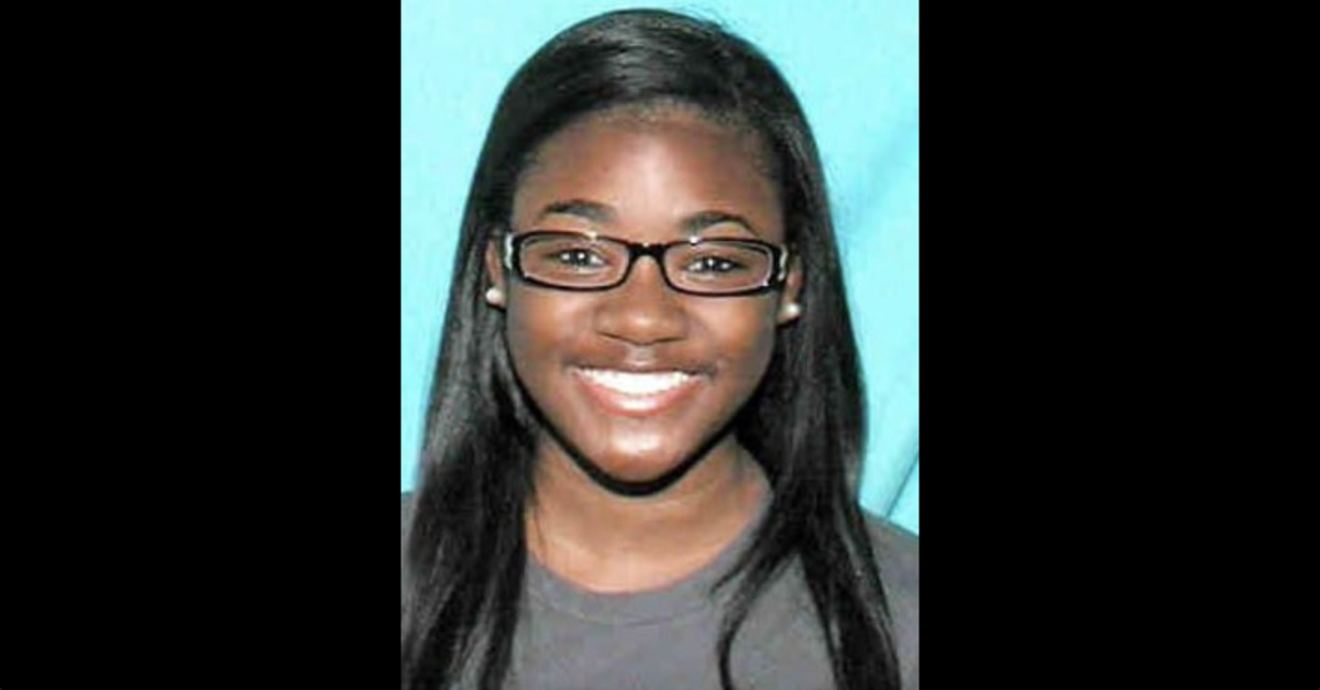 Precious Stephens appears in a wanted photo