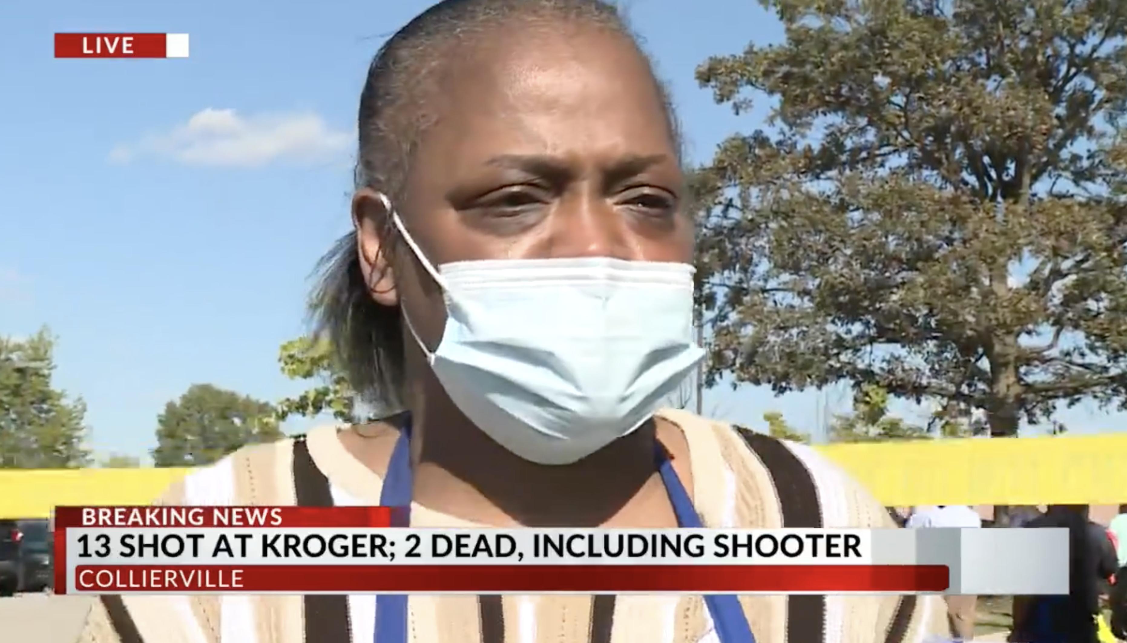 Kroger employee interviews with WREG after mass shooting