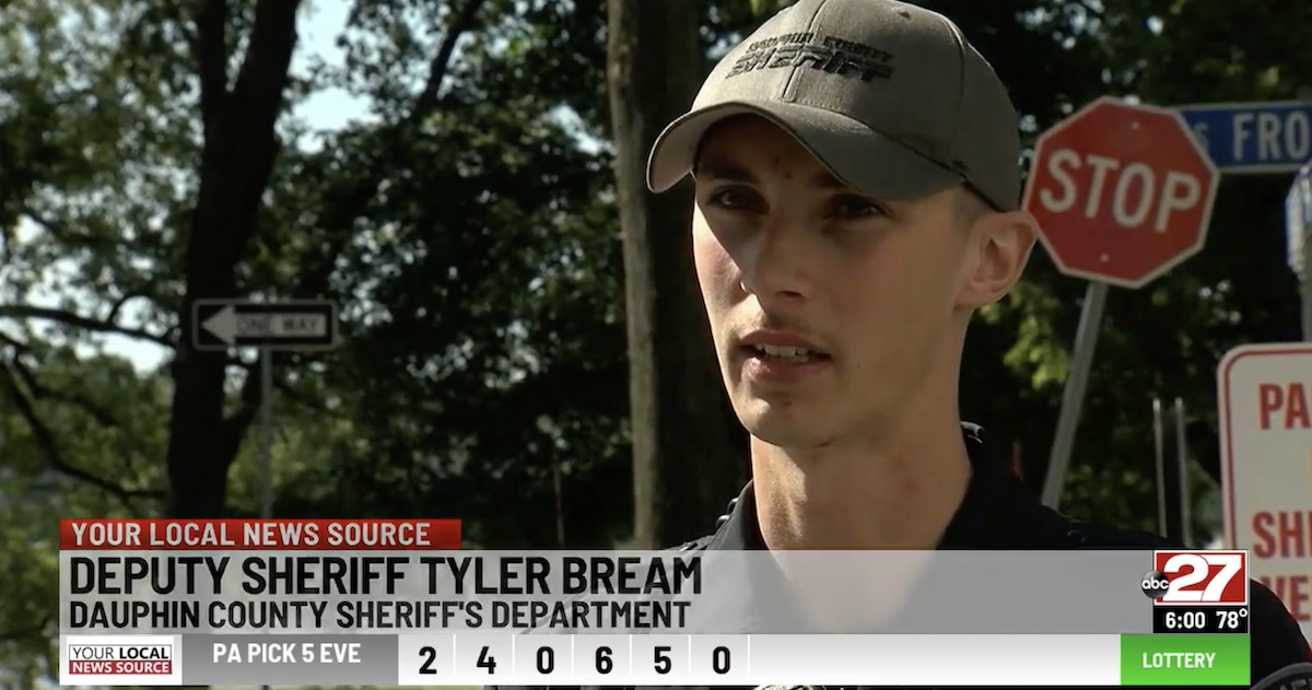 tyler bream on saving a child from a drug overdose