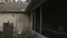 Deputy Marcus Dawson at house fire