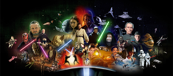 star wars characters copy