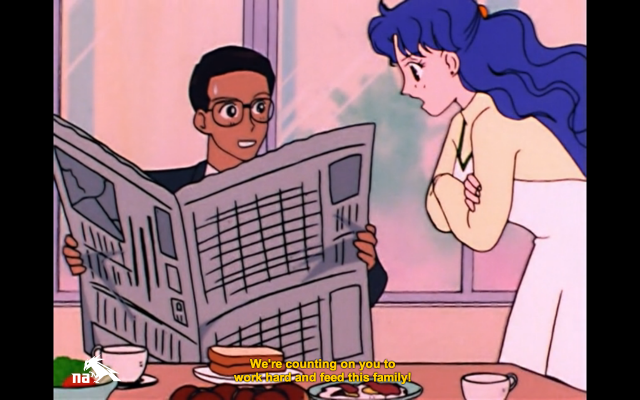 7 Usagi's Parents and Normative Gender Roles