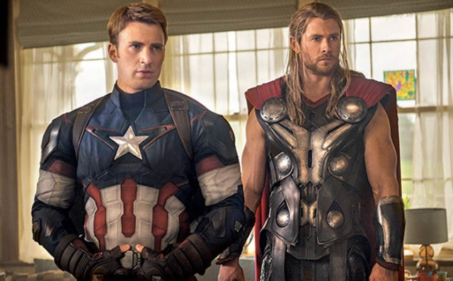 avengers age of ultron cap thor