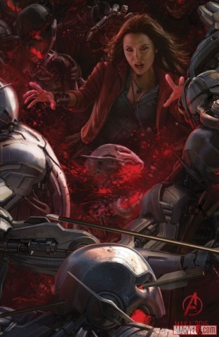 ultron scarlet witch