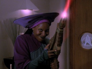 Guinan's got it under control