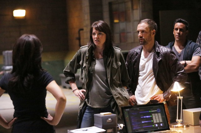 LUCY LAWLESS, NICK BLOOD, WILMER CALDERON