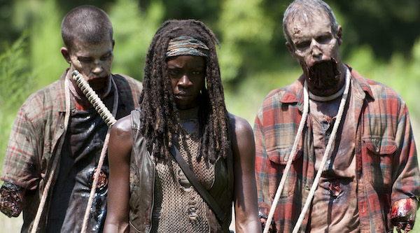 Michonne and her walkers