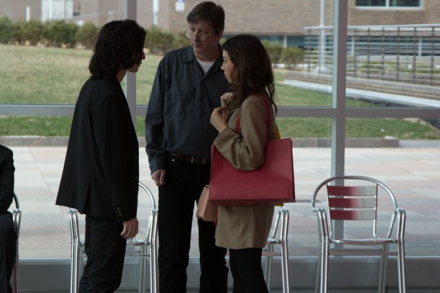 Dir. Hal Hartley with Liam Aiken and Aubrey Plaza - copyrighted Possible Films