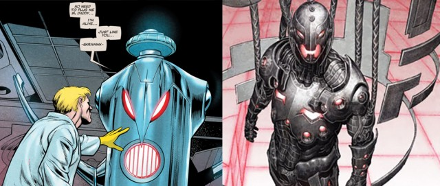 Ultron then and Now