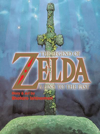 Zelda: A Link to the Past comic by Ishinomori - Cover