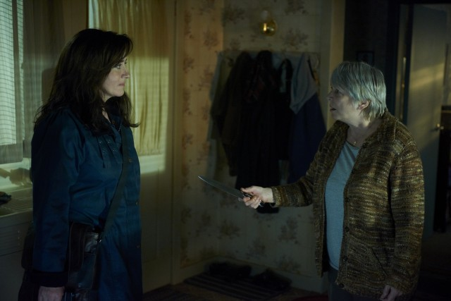 Mrs. S (MARIA DOYLE KENNEDY) and Kendall Malone (ALISON STEADMAN)