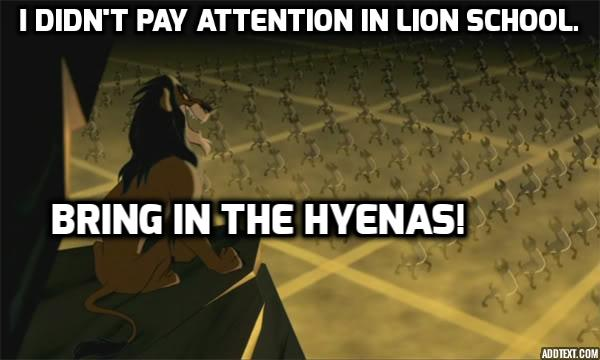 This change will have no impact on the circle of life or anything.