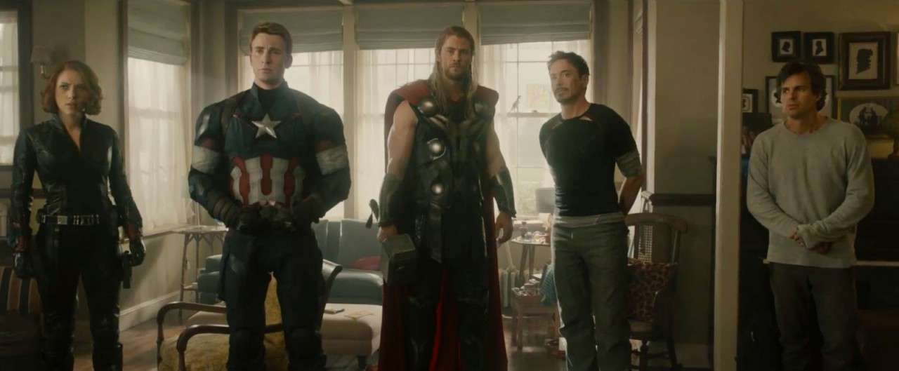 The Avengers in Avengers: Age of Ultron