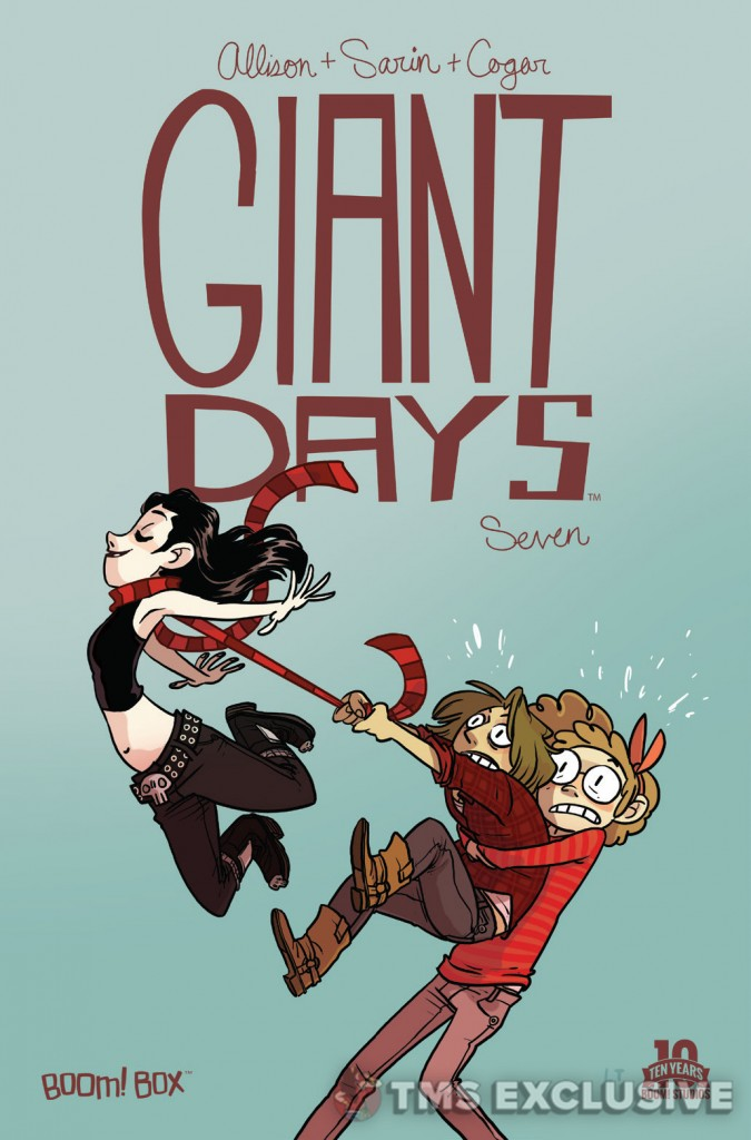 Giant Days #7 Cover