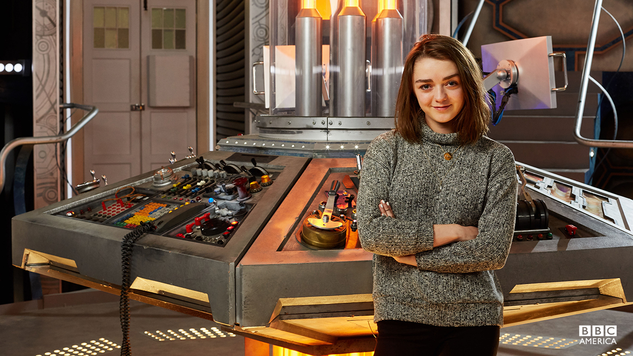 [Maisie Williams in Doctor Who]