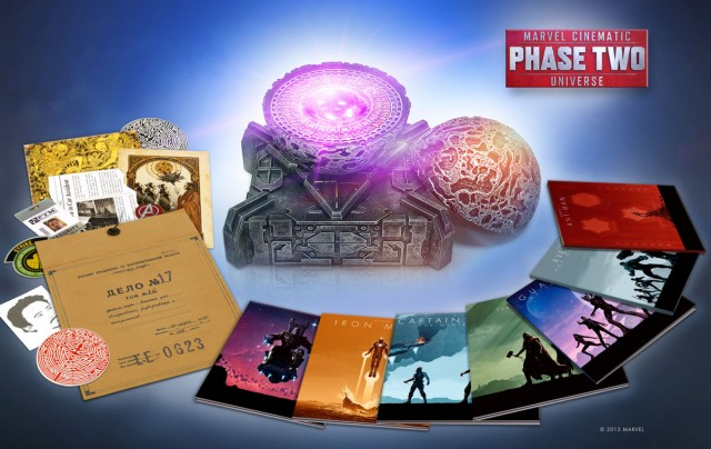 Marvel phase 2 box