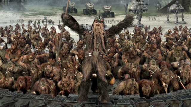 Wookiees in Star Wars