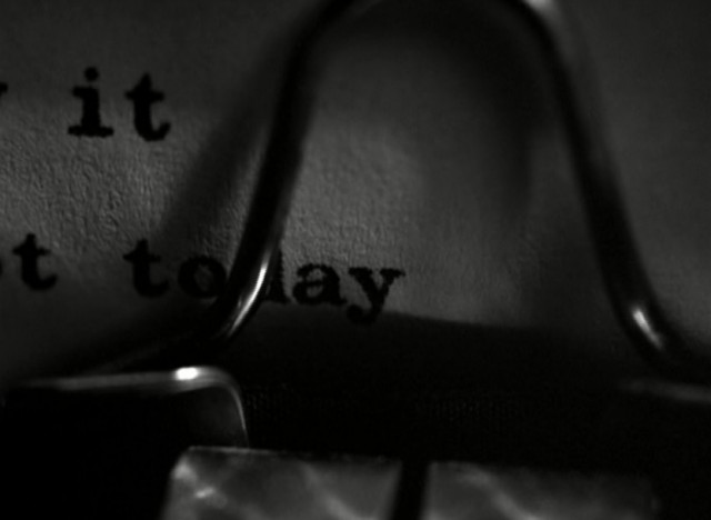 What do we say to death - not today