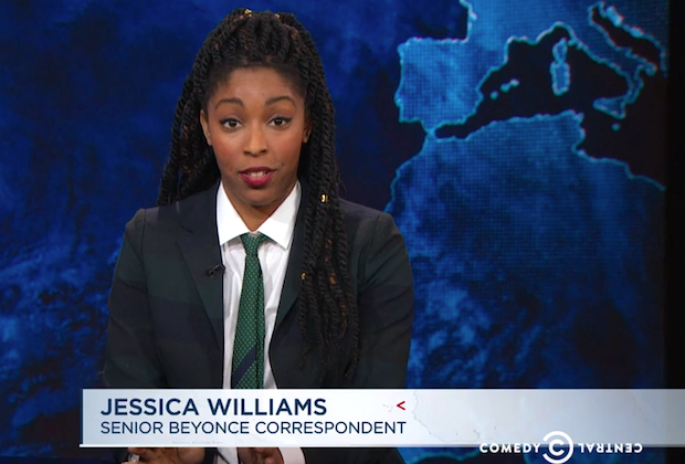 daily-show-jessica-williams-beyonce-super-bowl-halftime-controversy-video