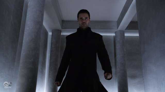 Ward in Agents of SHIELD in Matrix coat