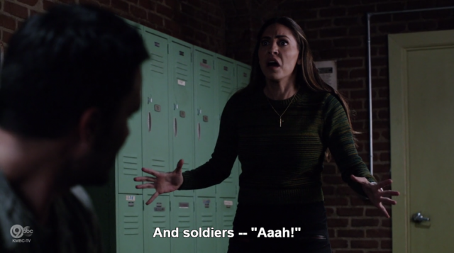 But first, a moment to appreciate how much fun Elena has being a superhero.