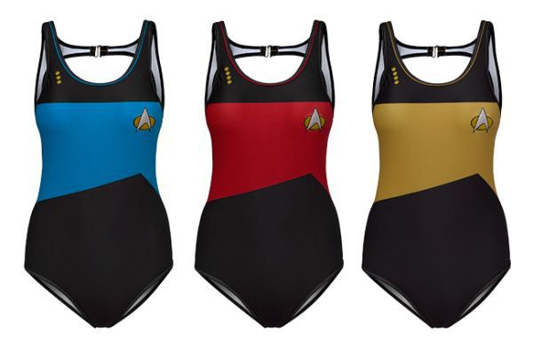ThinkGeek's Star Trek Swimwear Line