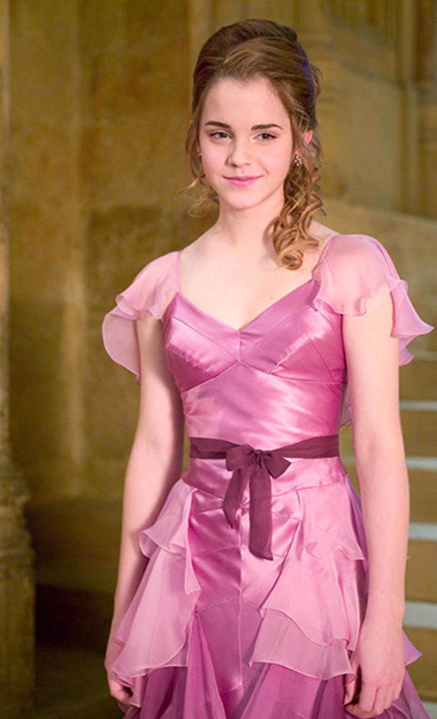 [Emma Watson in Harry Potter and the Goblet of Fire]