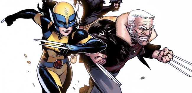 x-23 and old man logan