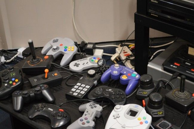 Old computer controllers