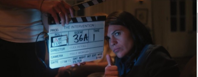 Clea DuVall directing The Intervention