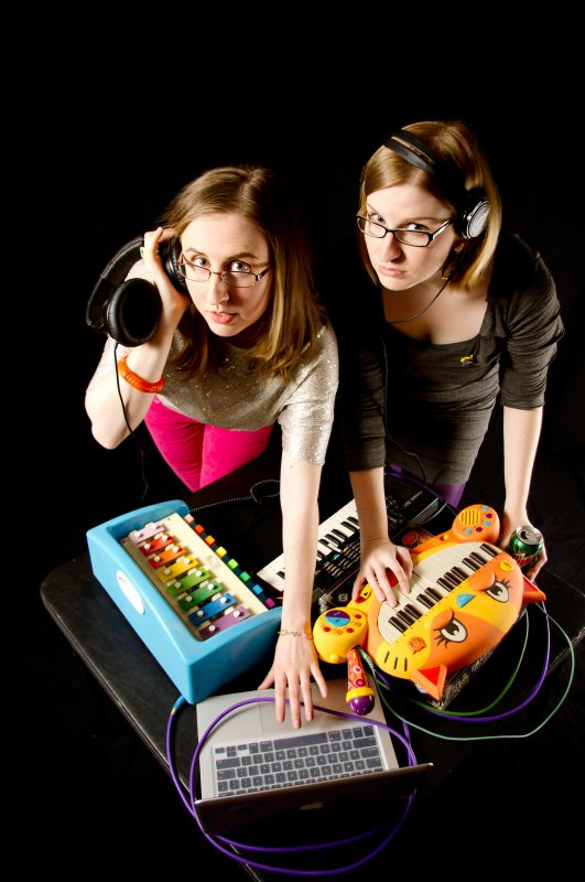 Aubrey and Angela of The Doubleclicks.